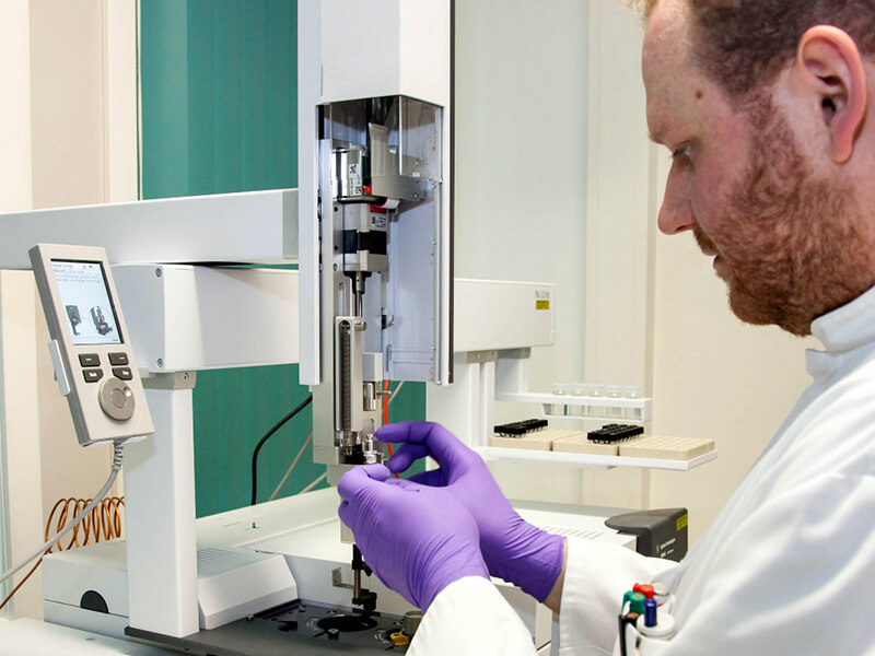 Sample analysis at the Stable Isotope Research Centre